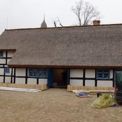 Zrekonstruowana Zagroda Jamneńska z XIX w