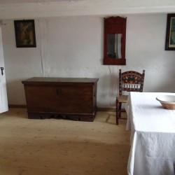 Zrekonstruowana Zagroda Jamneńska z XIX w- wnętrze