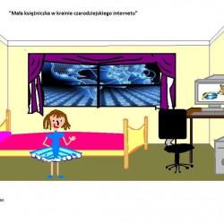 """Praca Julii Michalak, która zwyciężała w konkursie """"Otwarci na świat – Internet w naszym domu"""" 2015 rok"""