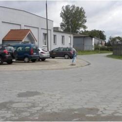 Uzbrojony obszar w obrębie ulic Różana – Lniana przedstawiający stan po realizacji projektu wraz z nową infrastrukturą drogową oraz miejscami parkingowymi