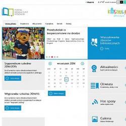 strona główna portalu edukacyjnego