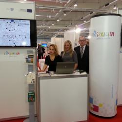 Promocja projektu na targach Infostrada w Lublinie. 19-21 listopada 2013 roku
