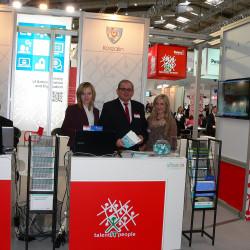 Promocja projektu na międzynarodowych targach teleinformatycznych CeBIT w Hanowerze. 5-9 marca 2013 roku
