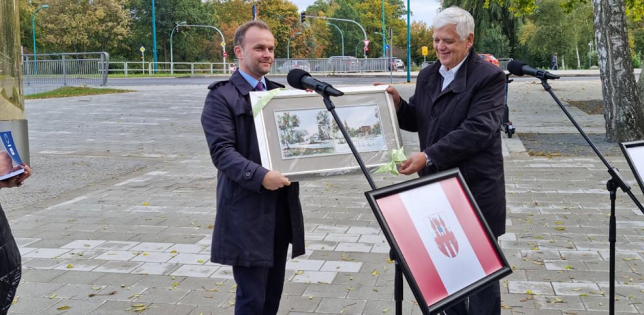 """Działania inwestycyjne projektu: """"Park rekreacyjno- kulturowy w Neubrandenburgu i Koszalinie"""""""