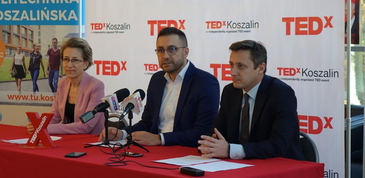 Na zdjęciu organizatorzy konferencji TEDxKoszalin
