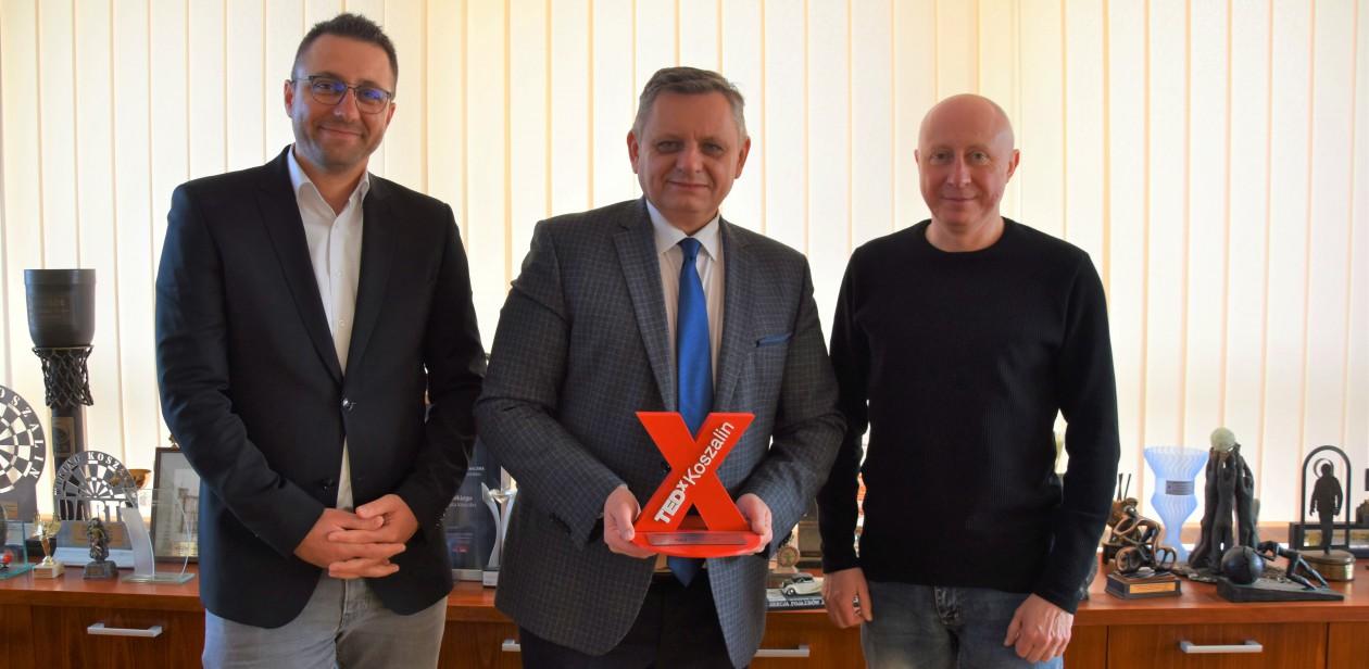 TedxKoszalin w gabinecie u Prezydenta