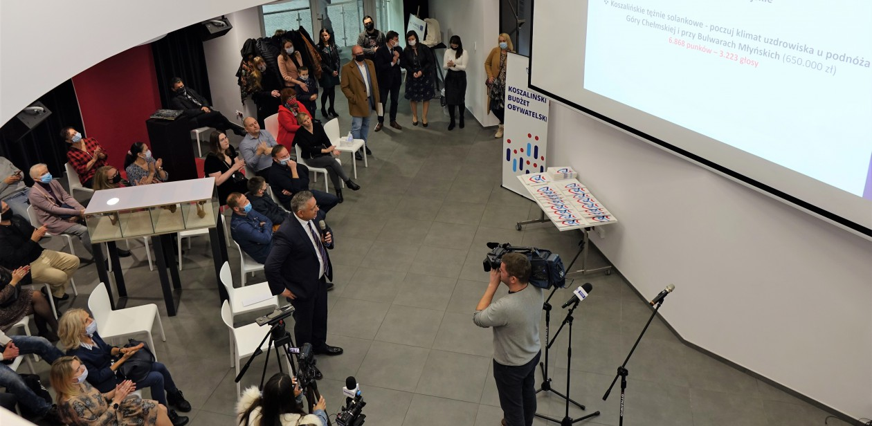 Wyniki Koszalińskiego Budżetu Obywatelskiego 2022