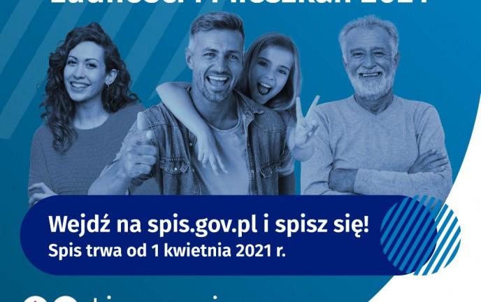 Plakat Narodowy Spis Powszechny