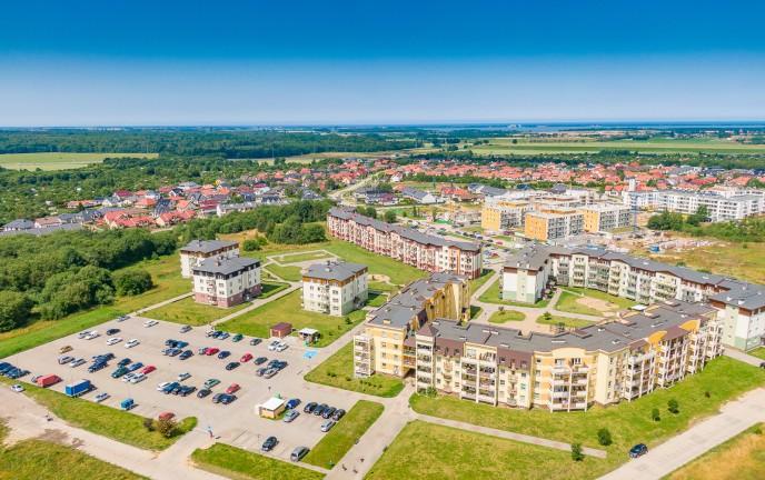 Zdjęcie przedstawiające osiedle Unii Europejskiej z góry