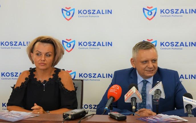 Na zdjęciu Prezydent Koszalina Piotr Jedliński