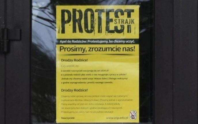 Oświatowa akcja protestacyjna, dzień drugi