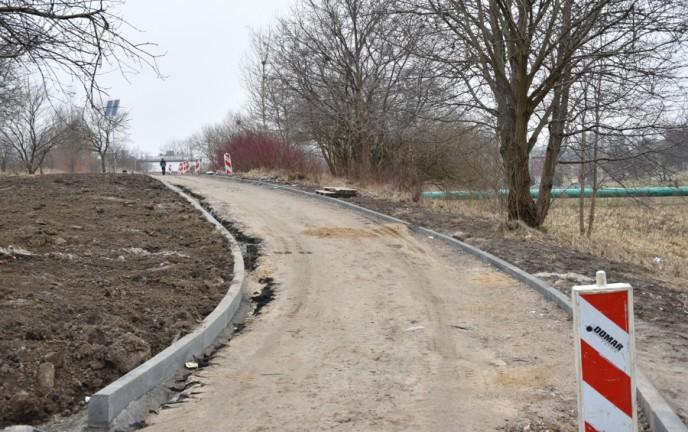 Zagospodarowanie brzegów rzeki Dzierżęcinki