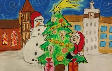 Nagrodzona kartka bożonarodzeniowa