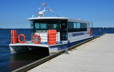 Na zdjęciu nowy statek pasażerski