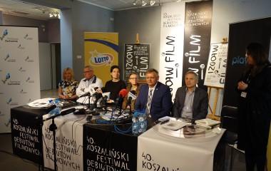 """Konferencja 40. edycji festiwalu """"Młodzi i Film"""""""