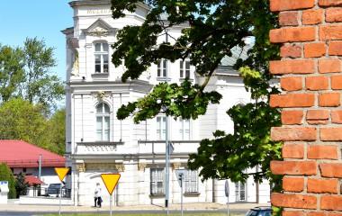Na zdjęciu budynek Muzeum w Koszalinie