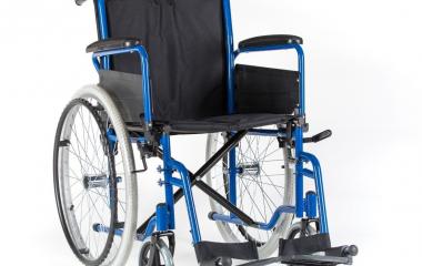 Na zdjęciu wózek inwalidzki
