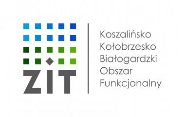 Logo Zintegrowanych Inwestycji Terytorialnych Koszalińsko-Kołobrzesko-Białogardzkiego Obszaru Funkcjonalnego